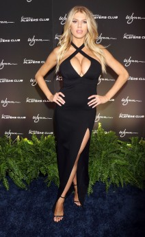 51940613 Celebrities attending the grand opening of the Encore Players Club at Encore at The Wynn Hotel & Casino in Las Vegas, Nevada on January 6, 2016. Celebrities attending the grand opening of the Encore Players Club at Encore at The Wynn Hotel & Casino in Las Vegas, Nevada on January 6, 2016.  Pictured: Charlotte McKinney FameFlynet, Inc - Beverly Hills, CA, USA - +1 (310) 505-9876
