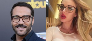 Jeremy Piven Gets Coffee With A Mystery Girl