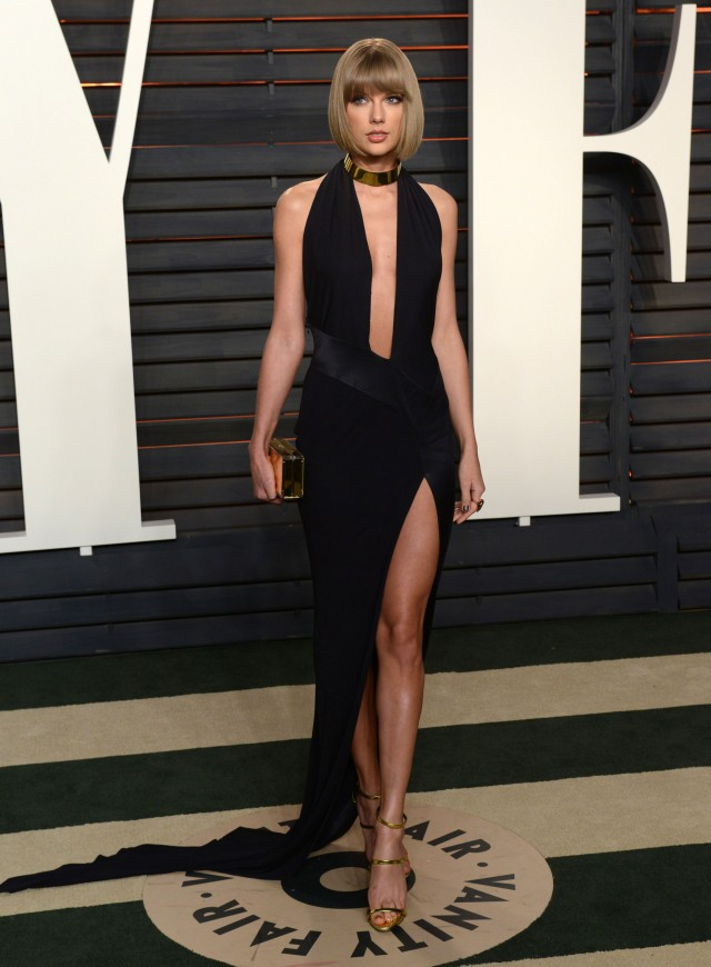 51983278 Celebrities attend the 2016 Vanity Fair Oscar Party hosted By Graydon Carter at Wallis Annenberg Center for the Performing Arts on February 28, 2016 in Beverly Hills, California. Celebrities attend the 2016 Vanity Fair Oscar Party hosted By Graydon Carter at Wallis Annenberg Center for the Performing Arts on February 28, 2016 in Beverly Hills, California. Pictured: Taylor Swift FameFlynet, Inc - Beverly Hills, CA, USA - +1 (310) 505-9876 RESTRICTIONS APPLY: NO FRANCE