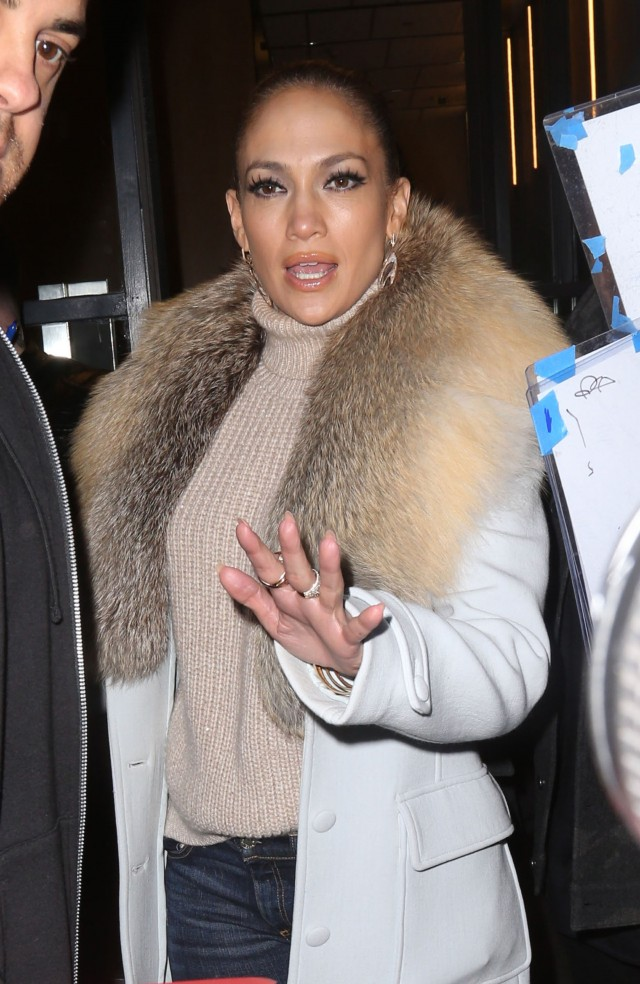 Jennifer Lopez At 'Watch What Happens Live' In NYC ...
