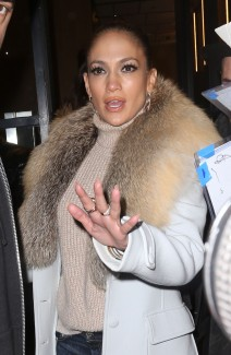 51984265 Actress/singer Jennifer Lopez at 'Watch What Happens Live' in New York City, New York on February 29, 2016. Jennifer was surrounded by fans looking for an autograph. FameFlynet, Inc - Beverly Hills, CA, USA - +1 (310) 505-9876