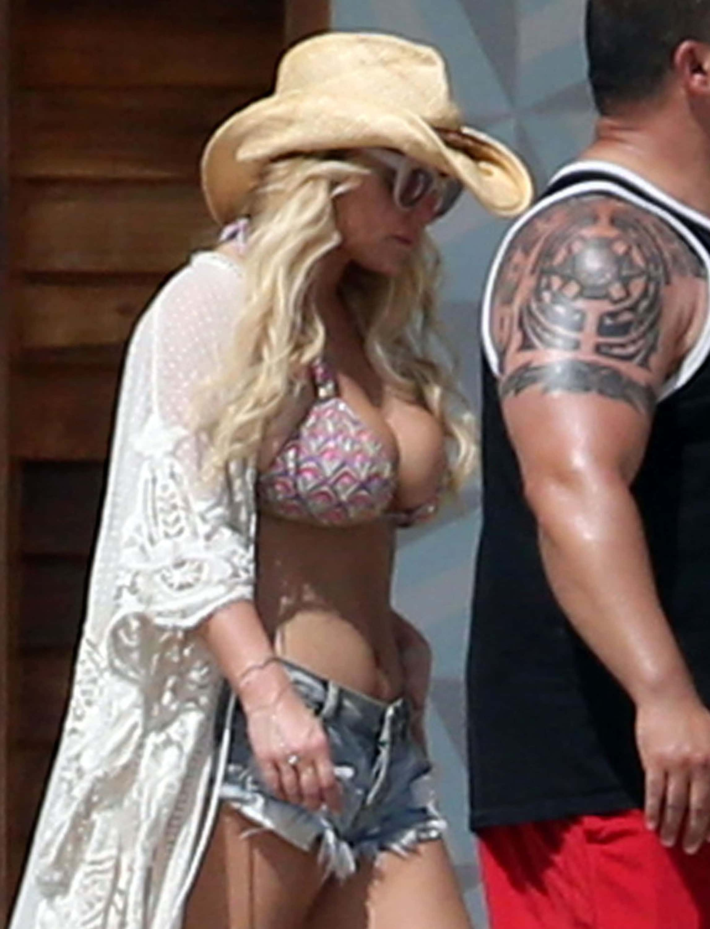 Jessica simpson grosse photo