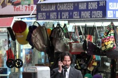 51933956 A beat-up and bloody Keanu Reeves can be seen doing some intense running scenes with his pitbull costar in Manhattan's Central Park for 'John Wick 2' on December 21st, 2015.   Later he shot another scene exiting a train station and making a call from a public pay phone. Keanu is filming the last day of the New York Unit as they get ready for the holidays and continue with the filming after New Years where production will be moving the action to Italy. A beat-up and bloody Keanu Reeves can be seen doing some intense running scenes with his pitbull costar in Manhattan's Central Park for 'John Wick 2' on December 21st, 2015.   Later he shot another scene exiting a train station and making a call from a public pay phone. Keanu is filming the last day of the New York Unit as they get ready for the holidays and continue with the filming after New Years where production will be moving the action to Italy. FameFlynet, Inc - Beverly Hills, CA, USA - +1 (310) 505-9876