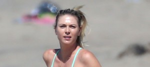 51992443 Troubled tennis player Maria Sharapova is spotted working out with her trainers on the beach in Santa Monica, California on March 9, 2016. Maria recently admitted to failing at drug test at the Australian Open and is facing a 2-4 year ban from professional trainer. Maria who makes $195 million dollars a year is continuing to train and hoping she wins an appeal. FameFlynet, Inc - Beverly Hills, CA, USA - +1 (310) 505-9876