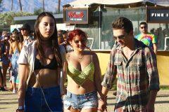 Ariel Winter & Laurent Claude Gaudette Pack On the PDA At Coachella