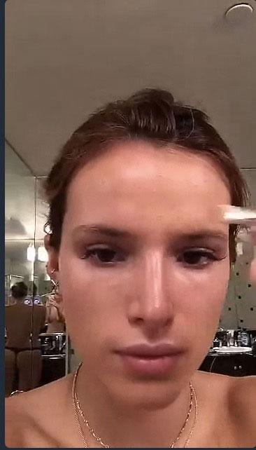 bella-thorne-makeup
