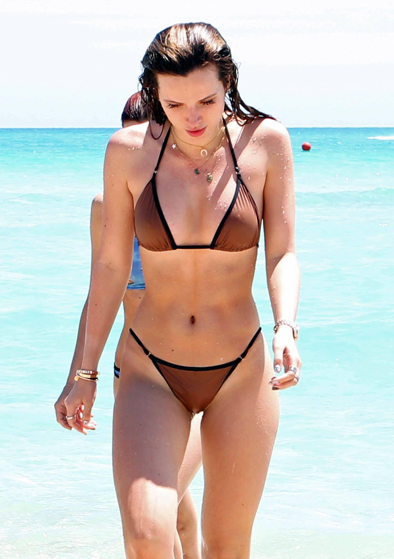 Ashley Greene Poses Naked on Nude Beach During Honeymoon