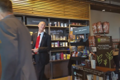 Rick Scott Starbucks