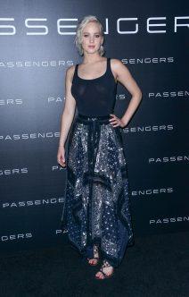 Jennifer Lawrence Braless at CinemaCon