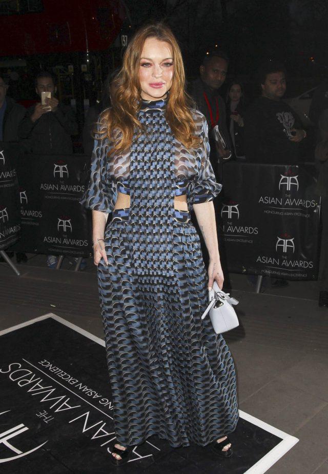 Lindsay Lohan Rocks A ...