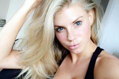 Charlotte McKinney selfie