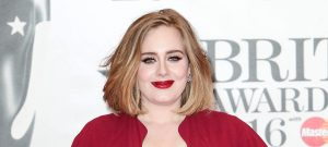 51978413 Celebrities attend the BRIT Awards 2016 at The O2 Arena on February 24, 2016 in London, England.  Celebrities attend the BRIT Awards 2016 at The O2 Arena on February 24, 2016 in London, England. Pictured: Adele FameFlynet, Inc - Beverly Hills, CA, USA - +1 (310) 505-9876 RESTRICTIONS APPLY: USA/CHINA ONLY