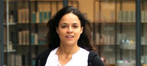 52016650 Actress Michelle Rodriguez grabs some juice at 'Pressed Juicery' in Beverly Hills on April 07, 2016. In a recent interview with TMZ, the 'Fast And Furious' star spoke about her difficulty dealing with the death of her former co-star, Paul Walker. Rodriguez spoke about taking Ayahuasca and experiencing jealously that Walker was in the next world while she was still here. FameFlynet, Inc - Beverly Hills, CA, USA - +1 (310) 505-9876