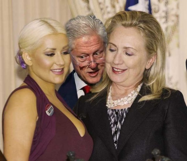hillary-clinton-christina-aguilera-cleavage-stare-05