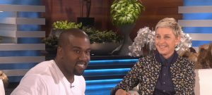 Kanye West on The Ellen Show