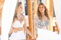 Victoria Secret Models Have A Photo Shoot In Miami