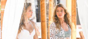 Victoria Secret Models Have A Photo Shoot In Miami
