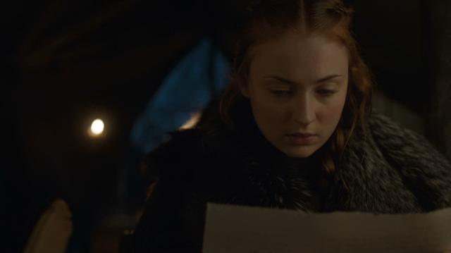 2 - Sneaky little Sansa