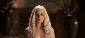 Emilia Clarke Game of Thrones Censored