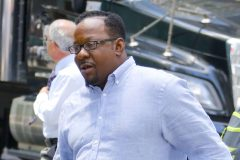 52090622 Singer Bobby Brown and his pregnant wife Alicia Etheredge are walking hand and hand in New York City, New York on June 13, 2016. Bobby has a new book coming out today called 'Every Little Step: My Story' that includes large amount of stories about his sexual exploits. FameFlynet, Inc - Beverly Hills, CA, USA - +1 (310) 505-9876 RESTRICTIONS APPLY: USA ONLY