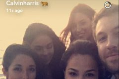 calvin harris and babes