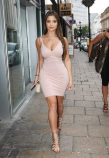 52085778 Rapper Tyga's rumored new girlfriend Demi Rose rocks a tight pink dress while out for dinner with her friend at Fumo's restaurant in Birmingham, England on June y, 2016. Tyga recently called it quits with longtime girlfriend Kylie Jenner. FameFlynet, Inc - Beverly Hills, CA, USA - +1 (310) 505-9876 RESTRICTIONS APPLY: USA/CHINA ONLY