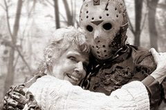 friday the 13th jason vorheees with mother
