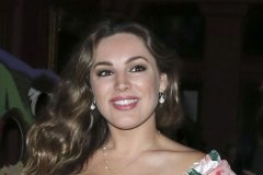 52079601 'Piranha' actress Kelly Brook is spotted out for dinner at Steam and Rye in London, England on June 2, 2016. Kelly was sporting a tight fitting floral print dress for her night out on the town. FameFlynet, Inc - Beverly Hills, CA, USA - +1 (310) 505-9876 RESTRICTIONS APPLY: USA/CHINA ONLY
