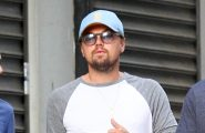 52097996 'Wolf of Wall Street' actor Leonardo DiCaprio was spotted out and about with some friends in New York City, New York on June 19, 2016.  There has been a great deal of trouble surrounding the film as Andrew Greene (who was being portrayed by Leonardo) is suing for $25 million as he says he was wrongfully portrayed in the movie. (CNN) FameFlynet, Inc - Beverly Hills, CA, USA - +1 (310) 505-9876