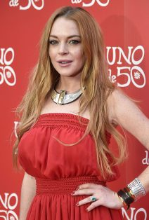 52086956 Actress Lindsay Lohan at the 'Uno de 50' Jewelry Line event in Madrid, Spain on June 9, 2016. FameFlynet, Inc - Beverly Hills, CA, USA - +1 (310) 505-9876 RESTRICTIONS APPLY: USA/AUSTRALIA ONLY