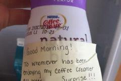 Breastmilk Coffee Creamer