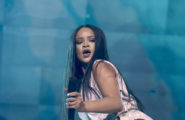52112862 Singer Rihanna performs live at Tele2 Arena on July 4, 2015 in Stockholm, Sweden. FameFlynet, Inc - Beverly Hills, CA, USA - +1 (310) 505-9876 RESTRICTIONS APPLY: USA ONLY