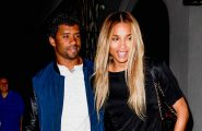52103218 Ciara and her fiance Russell Wilson were spotted leaving Craig's restaurant in Los Angeles, California on June 23, 2016.  The two held hands with one another before getting into their car and leaving.  They appeared to have had a really nice date night. FameFlynet, Inc - Beverly Hills, CA, USA - +1 (310) 505-9876
