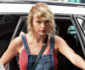 52143623 Singer Taylor Swift seen returning to her apartment wearing a mini skirt and no bra in New York City, New York on August 8, 2016. Taylor spent the weekend celebrating Karlie Kloss' birthday in the Hamptons. FameFlynet, Inc - Beverly Hills, CA, USA - +1 (310) 505-9876
