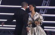 Rihanna Curved Drake