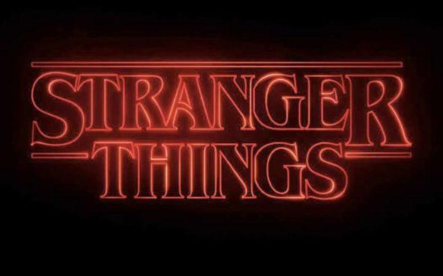 Stranger Things Title Screen