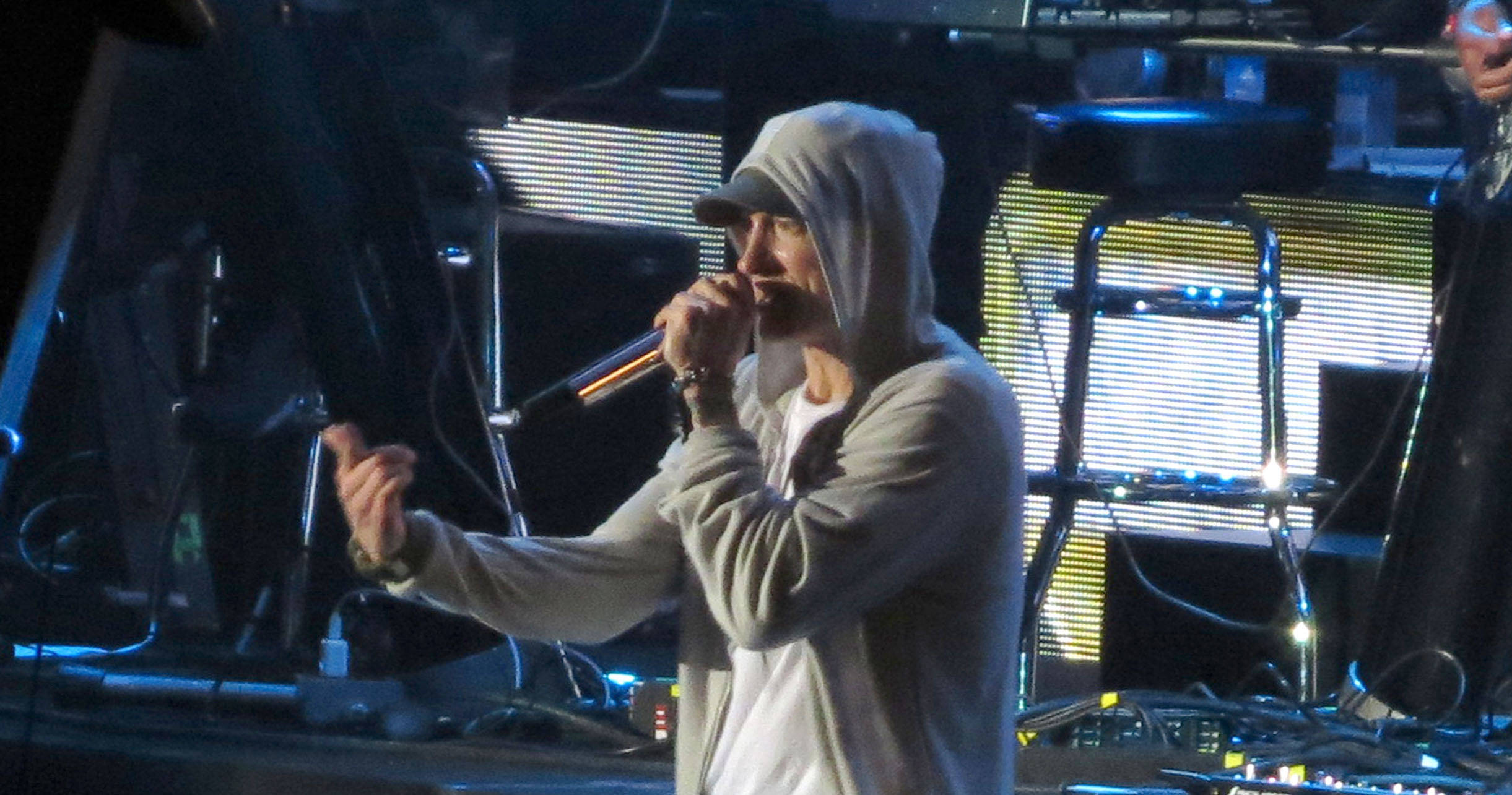 Leaked Audio Reveals Eminem Siding With Chris Brown in Rihanna Domestic Abuse