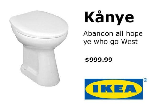 Kanye West Ikea