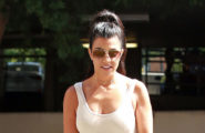 "52144370 Kourtney Kardashian is seen taking her son, Mason, to an art class in Calabasas, California on August 9, 2016. Kourtney recently said in an interview, ""I don't want the show to end, but I sometimes think I would be so happy if it did, and I could just move away from it all."" FameFlynet, Inc - Beverly Hills, CA, USA - +1 (310) 505-9876"