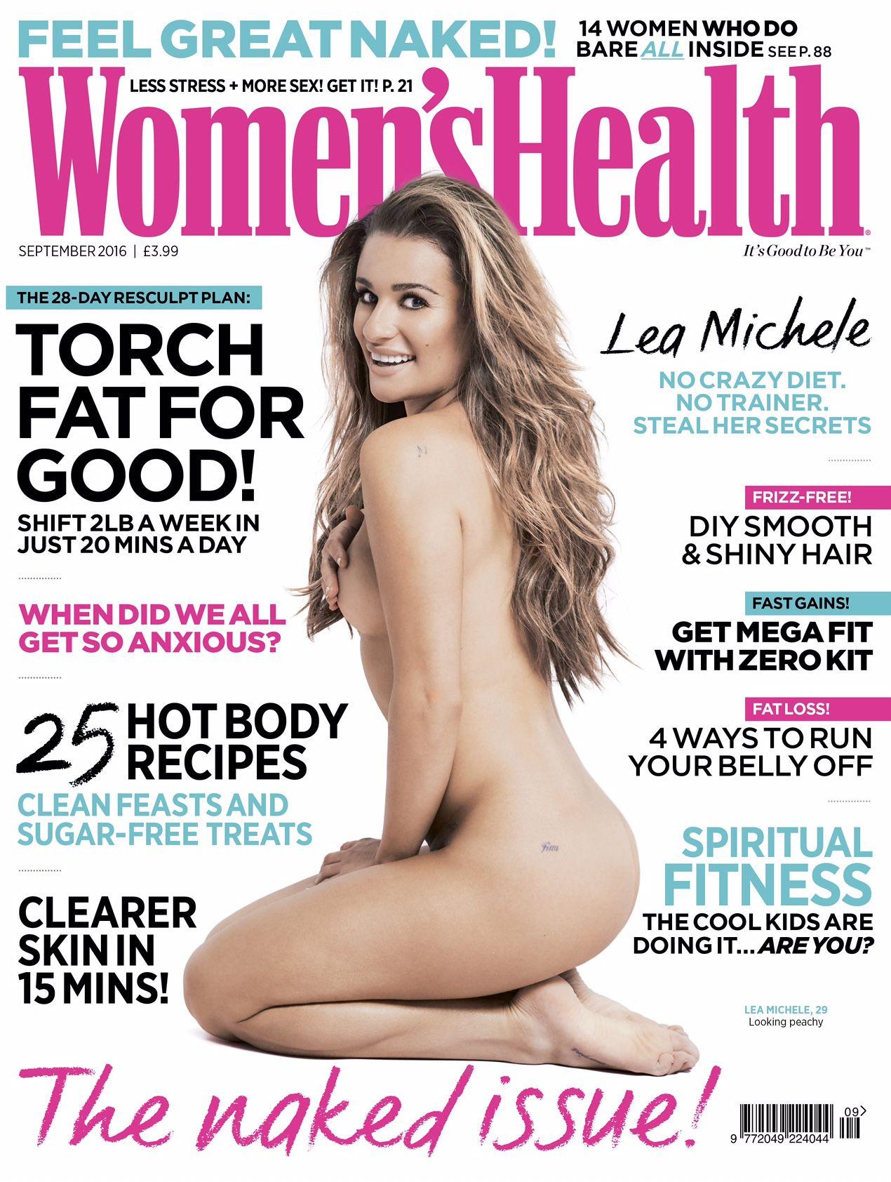 Lea Michele for Women's Health UK