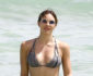 52185212 Katharine McPhee is spotted cavorting at the beach with an unidentified male friend in Miami, Florida on September 25, 2016. The actress and singer showed off a toned body in a striped bikini while doing some sunbathing. McPhee recently broke up with her 'Scorpio' costar Elyes Gabel. FameFlynet, Inc - Beverly Hills, CA, USA - +1 (310) 505-9876