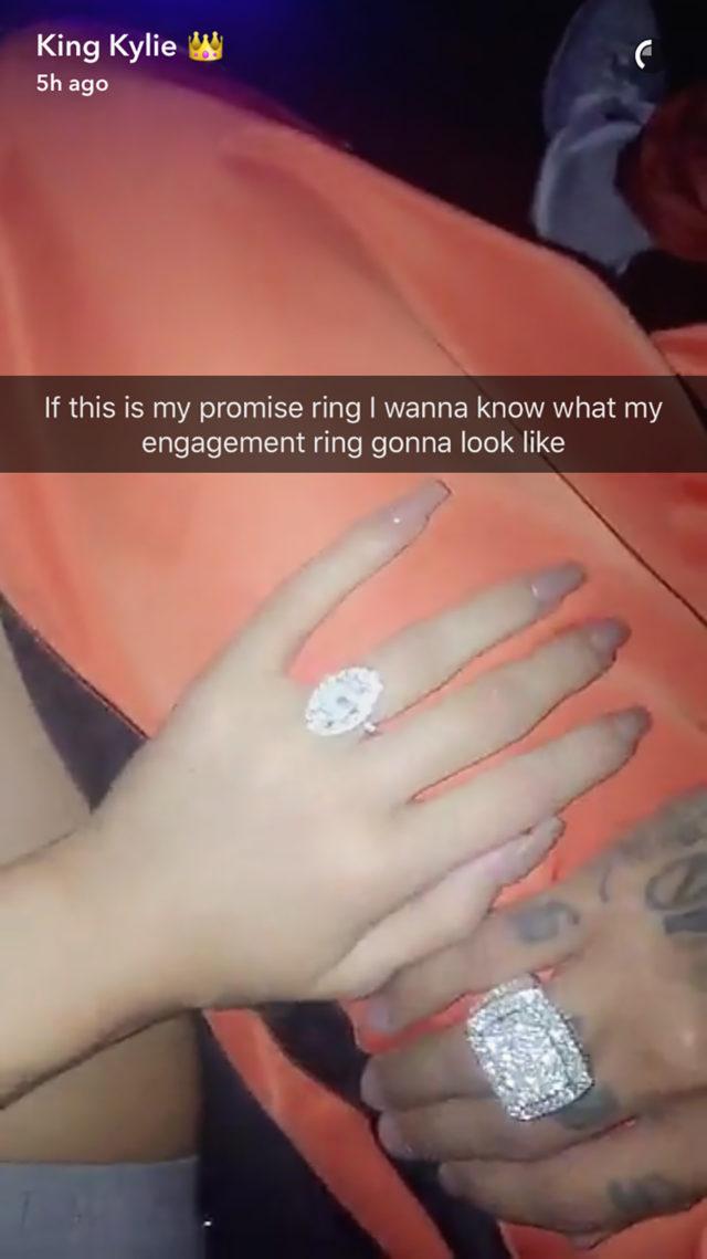 kylie-jenner-promise-ring-snapchat