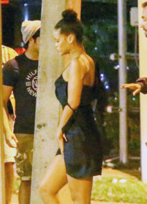 52160930 Singer Rihanna and rapper Drake are spotted enjoying a late night out at E11EVEN nightclub in Miami, Florida on September 1, 2016. The happy new couple are spending time together during Drake's two-night concert stop in Miami. FameFlynet, Inc - Beverly Hills, CA, USA - +1 (310) 505-9876