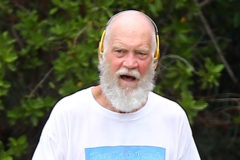 52005218 Former talk show host David Letterman is seen running in St Barts, on March 25 2016. The family is enjoying a vacation in the popular celebrity getaway.  ***USA, CANADA, SOUTH AMERICA, AUSTRALIA, JAPAN, CHINA, GREECE, ROMANIA, SOUTH AFRICA - ONLY*** FameFlynet, Inc - Beverly Hills, CA, USA - +1 (310) 505-9876 RESTRICTIONS APPLY: SEE CAPTION FOR RESTRICTIONS