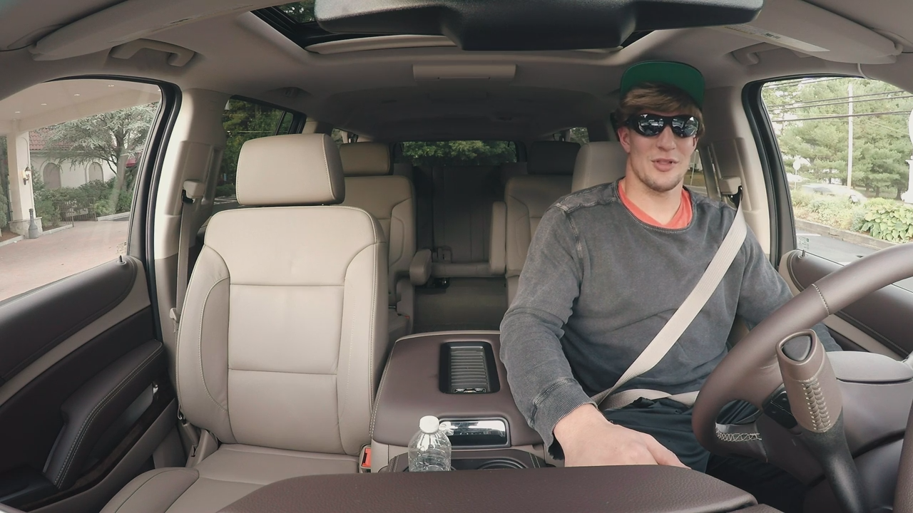 Rob Gronkowski goes undercover for Lyft to talk astrophysics and Tom Brady