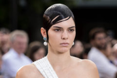 Celebrities attend the Givenchy Menswear Spring/Summer 2017 show as part of Paris Fashion Week on June 24, 2016 in Paris, France.  Pictured: Kendall Jenner