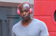 52172996 A buff Dave Chappelle is seen leaving a gym after a workout in New York City, New York on September 13, 2016. Dave could be seen having a cigarette and listening to music as he made his way home. FameFlynet, Inc - Beverly Hills, CA, USA - +1 (310) 505-9876