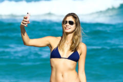 52238063 Model Anastasia Galkova shows off her bikini body while enjoying a day on the beach with friends in Miami, Florida on November 20, 2016. FameFlynet, Inc - Beverly Hills, CA, USA - +1 (310) 505-9876