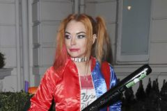 52220027 Celebrities attend Fran Cutler's Halloween Party at Albert's Club on October 31, 2016 in London, England. Celebrities attend Fran Cutler's Halloween Party at Albert's Club on October 31, 2016 in London, England. Pictured: Lindsay Lohan FameFlynet, Inc - Beverly Hills, CA, USA - +1 (310) 505-9876 RESTRICTIONS APPLY: USA/CHINA ONLY