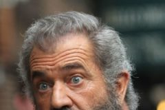 52220586 Actor Mel Gibson sported his signature thick beard while promoting his new film 'Hacksaw Ridge' in New York, New York on November 1, 2016. FameFlynet, Inc - Beverly Hills, CA, USA - +1 (310) 505-9876